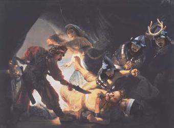 森村泰昌 「Death of Father」の画像
