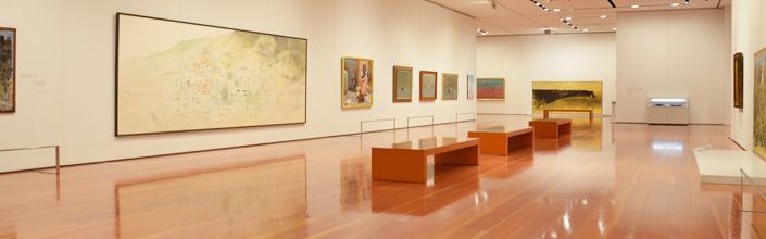 展示室の写真