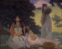 高村真夫「春日野」1911年