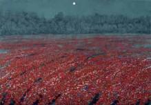 平松礼二「ノルマンディ夢の季」1998年
