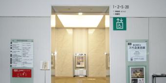 エレベーターホールの写真