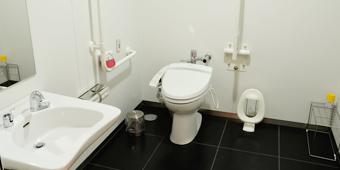 障害者用トイレの写真